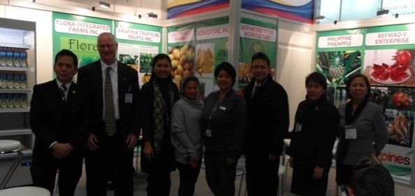 Philippines Breaks Ground in Germany's Fruit Logistica Trade Fair