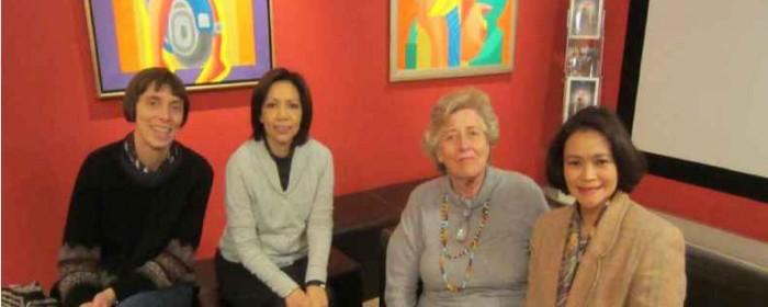 Amb. Natividad meets Charlotte Gödicke, German teacher who transformed Sagay, Negros Occidental