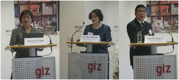 GIZ Workshop on Renewable Energy in Germany and in the Philippines