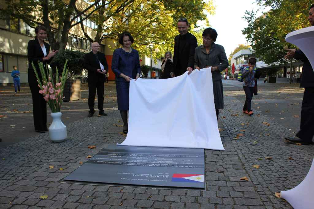 """Dr. Jose Rizal forms part of the """"Path of Visionaries of the World"""" in Berlin"""