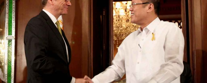 Minister Westerwelle visits the Philippines