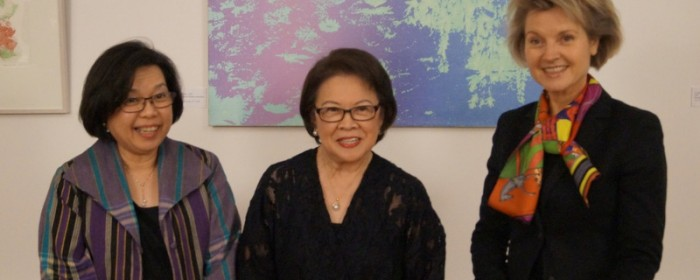 Philippine Embassy Celebrates Women´s Month  with a Vernissage of the Prints of Lenore RS Lim