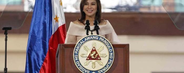 Vice President Leni Robredo´s Inaugural Address