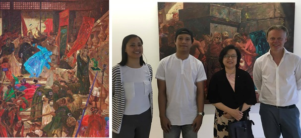 Young Filipino Artist Ronson Culibrina Debuts in Berlin with a Solo Exhibition