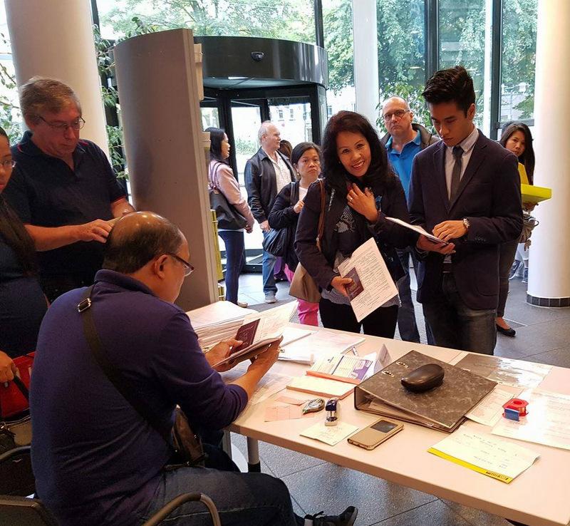 Philippine Embassy Team Holds Consular Outreach in Essen