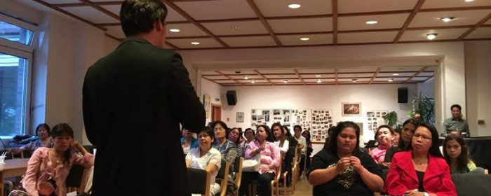 Filipino Lawyers Conduct Free Legal Seminar  and Consultation in Cologne and Berlin