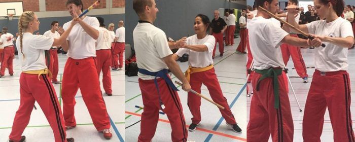 """East Meets West"" Training Camp  Brings Modern Arnis Grandmasters to Germany"