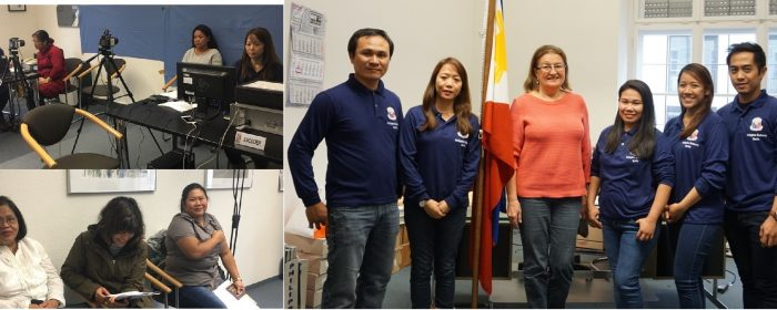 Philippine Embassy Holds Consular Mobile Outreach  in Munich