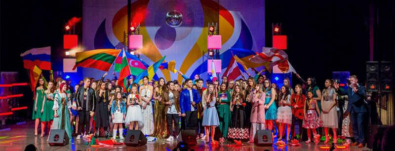 Competitors from 15 countries showcased their vocal prowess at the gala show which bookended the two-day completion of the Euro Pop Contest Berliner Pearl 2016 at the Russian House of Science and Culture, Berlin (photo from europopcontest.com)