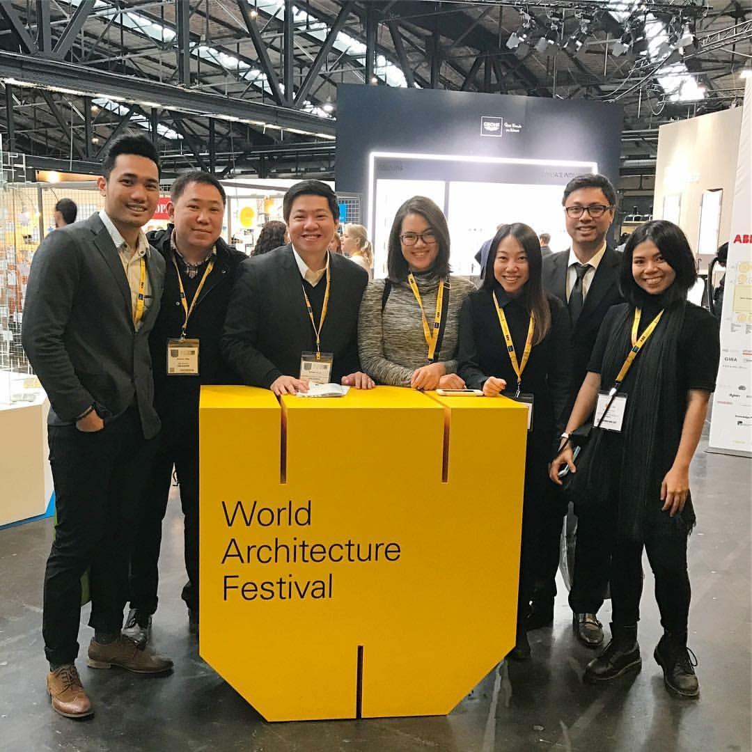 WTA Design Studio representatives at the WAF event