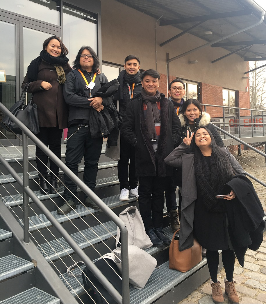The Philippine delegation at this year´s Talent Campus