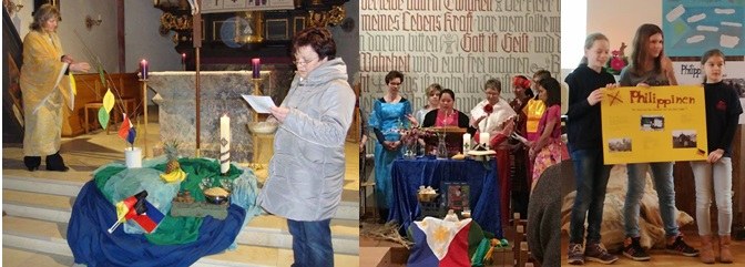 World Day of Prayer Focuses on the Philippines:  Celebrations in Germany