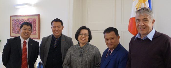 UPLIFT:  ASEAN Biodiversity Center head engages with Filipinos in Berlin