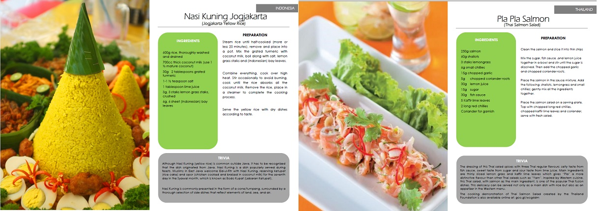 Recipe book on southeast asian cuisine launched in berlin foodies and those who are just craving for something different will find a variety of southeast asian food that are quite easy to prepare forumfinder Choice Image