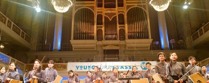 YOUNG FILIPINO MUSICIANS PERFORM WITH ASIAN YOUTH ORCHESTRA, EARN OVATIONS AT YOUNG EURO CLASSIC CONCERT
