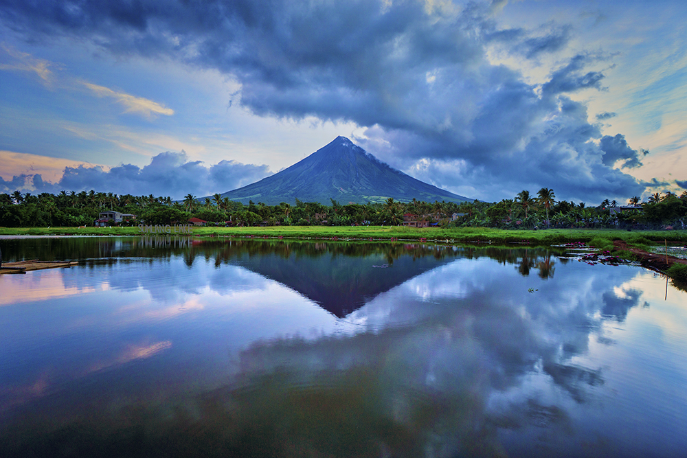 The Mayon Volcano. Photo by Mr. Carlos Esguerra.