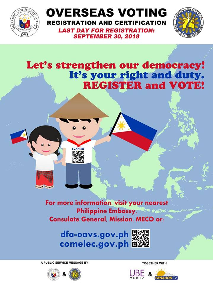 OVERSEAS VOTING REGISTRATION AND CERTIFICATION