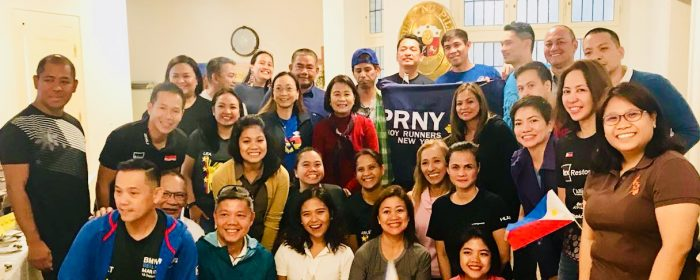 Embassy hosts Carbo-Loading for the Philippine Contingent to the 2018 Berlin BMW Marathon