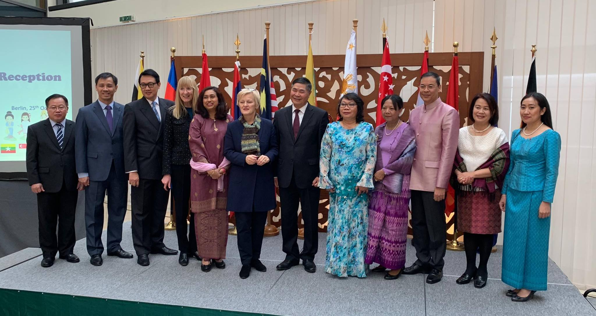 BERLIN ASEAN COMMITTEE HOSTS 2018 ASEAN DAY RECEPTION