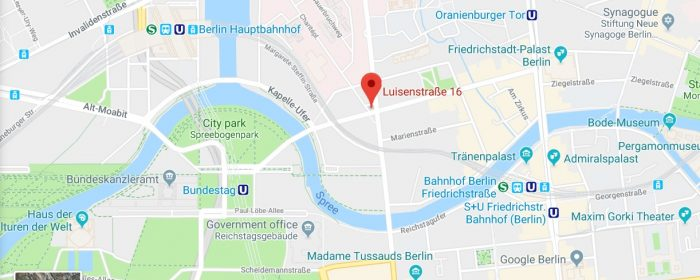 How to go to the new PHILIPPINE EMBASSY IN BERLIN:  Luisenstrasse 16, 10117 Berlin