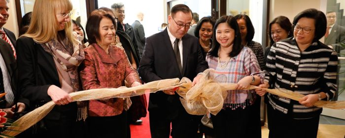 Secretary Locsin unveils new embassy building in Berlin