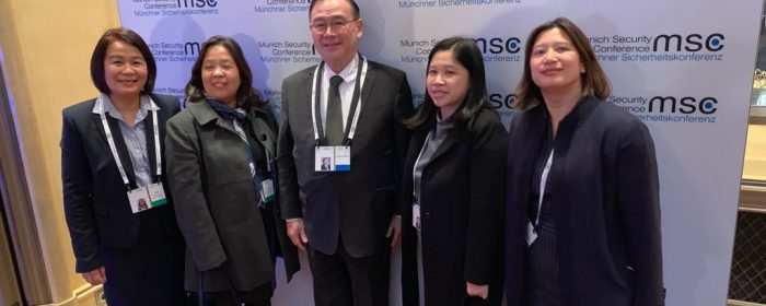 Secretary Locsin leads PH's first foray in Munich Security Conference