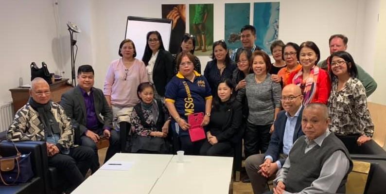 PHILIPPINE AMBASSADOR-DESIGNATE MEETS HAMBURG-BASED FILIPINOS