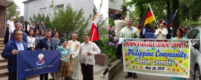 FILIPINO COMMUNITY IN BERLIN MARKS NATIONAL HERITAGE MONTH WITH TRADITIONAL SANTACRUZAN