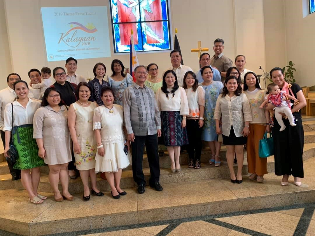Philippine Embassy and Filipino Community in Berlin Kick-off