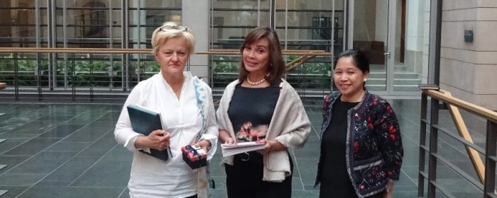 SENATOR LEGARDA HIGHLIGHTS PH ENVIRONMENT PROTECTION EFFORTS IN MEETING WITH GERMAN GREEN PARTY MEMBER