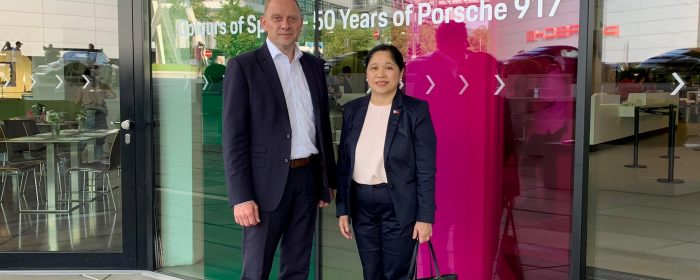 Ambassador Dizon-De Vega Meets With Porsche on Vocational Program in the Philippines