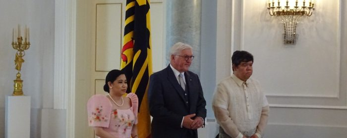 NEW PHILIPPINE AMBASSADOR PRESENTS CREDENTIALS TO GERMAN FEDERAL PRESIDENT