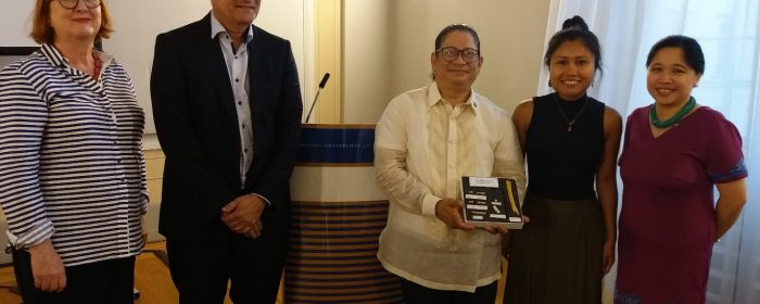 LECTURE ON HOMO LUZONENSIS MARKS LAUNCH OF PROGRAM TO PROMOTE PHL STUDIES AT HUMBOLDT UNIVERSITY