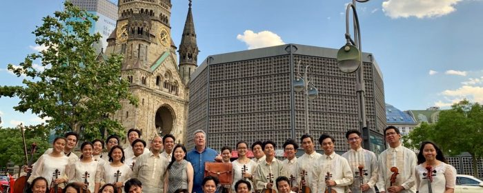CONCERTS IN GERMAN CAPITAL CAP  FILIPINO YOUTH STRING ORCHESTRA'S EUROPEAN TOUR