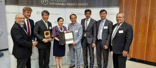 Philippines Recognized as Leader in Sustainable Financing