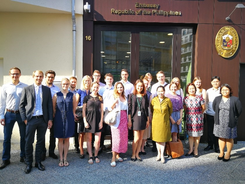 Federal Foreign Office interns visit Philippine Embassy in
