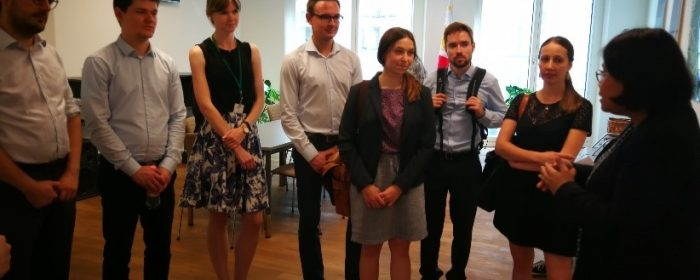 Federal Foreign Office interns visit Philippine Embassy in Berlin