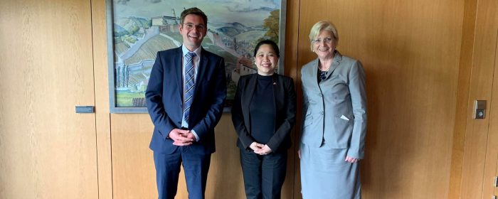 Philippine Ambassador Meets German Economic Cooperation and Development Officials