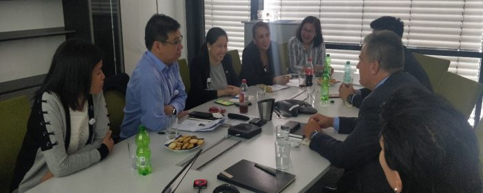 DTI Undersecretary Rodolfo meets with German industry, visits Ayala-owned Via Optronics