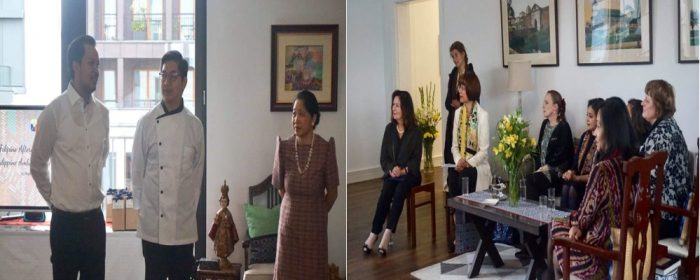 Philippine Ambassador Hosts Filipino Afternoon Tea for Wilkommen in Berlin