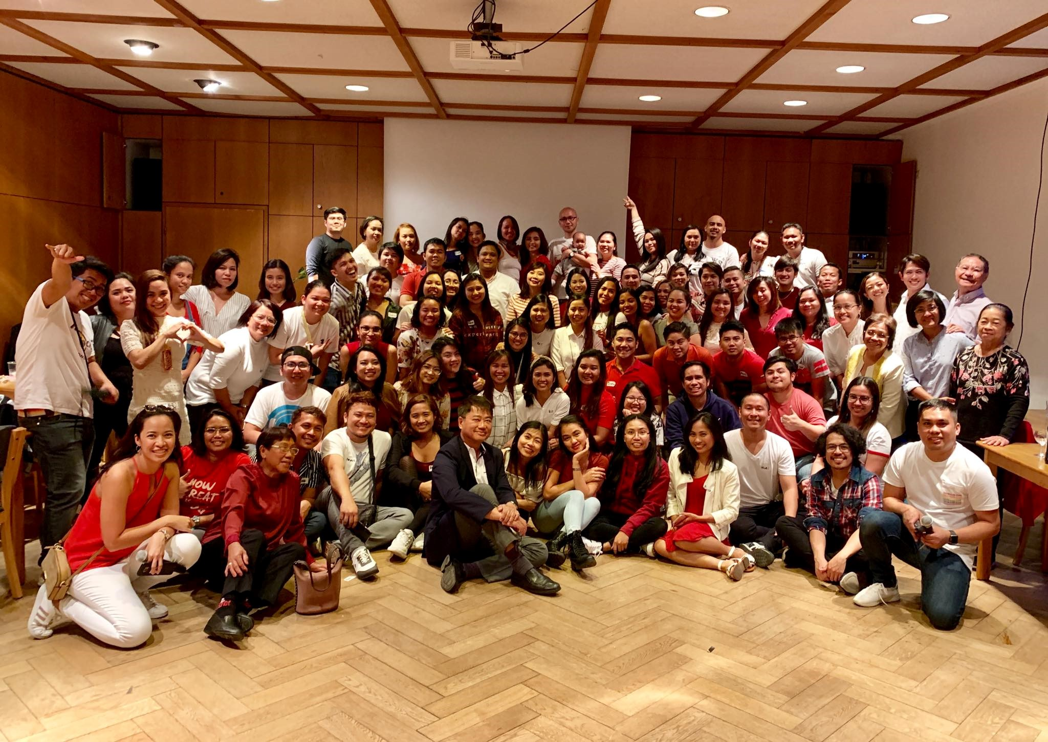 EMBASSY TEAM WITH NEW LABOR ATTACHÉ ATTENDS 1st FILIPINO NURSES' GATHERING IN BERLIN
