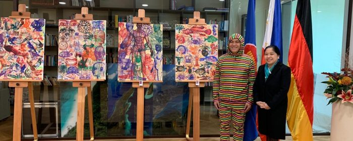 MULTI-AWARDED FILIPINO ARTIST SAM PENASO'S  SOLO EXHIBIT OPENS IN BERLIN