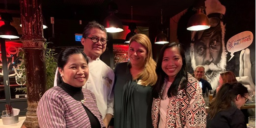 Chef Claude Tayag Wows with Philippine Flavors in Hamburg
