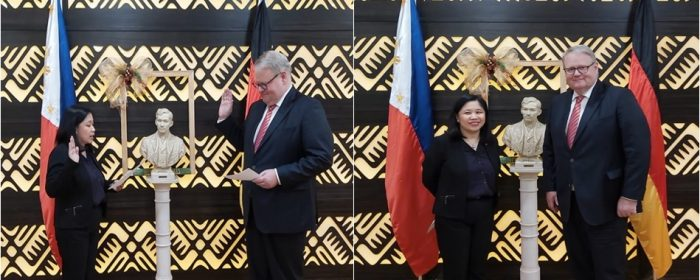 New Philippine Honorary Consul in Essen Takes Oath of Office