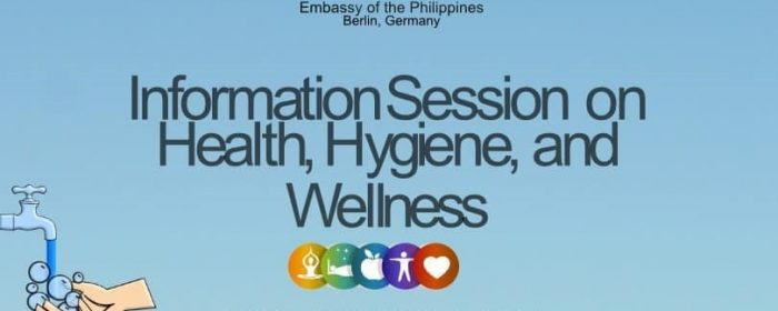 Philippine Embassy Berlin Holds Health Information Session