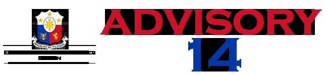 Public Advisory No. 14
