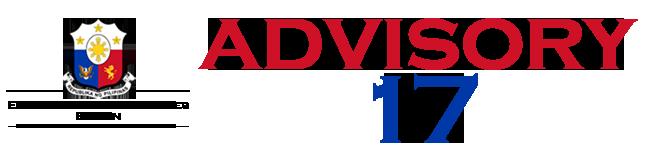 Public Advisory No. 17