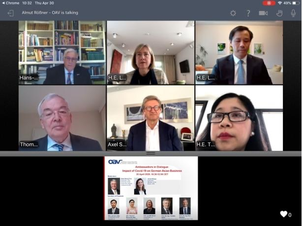 Philippines Takes Part in Webinar on German-Asian Business Outlook