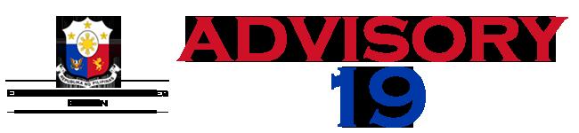 Public Advisory No. 19
