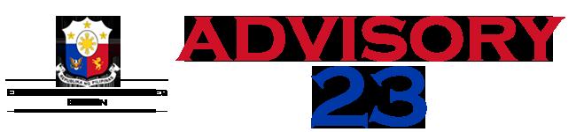 Public Advisory No. 23